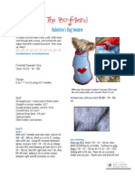 Boyfriend Sweater PDF