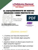 Emprendimiento y Proyecto de Vida_salina Cruz