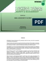 Petronas Risk Matrix Procedure