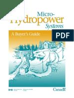 Micro Hydro Buyer Guide