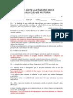 AVALIAÇÃO DE HISTÓRIA - 2º ANO / 2º BIMESTRE