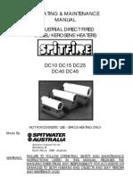 Spitfire Operating Manual