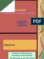 Micro-teaching [PDF Library]