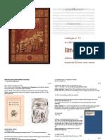 Julien Mannoni Livres Anciens Catalogue 12 Litterature
