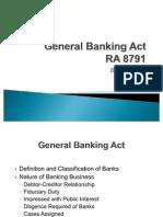 General Banking Act-PDIC