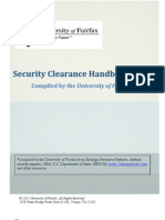 Security Clearance Handbook