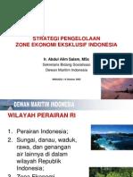 Strategi Pengelolaan Zee Indonesia