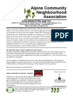 ACNA June 2011 Newsletter