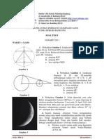 Soal Dan Solusi Tes 2 Pelatihan Astronomi (19 Maret 2011)