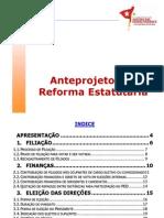 Anteprojeto de Reforma Estatutária do PT