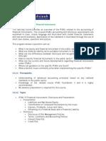 IPSAS Milestone 5 - Financial Instruments