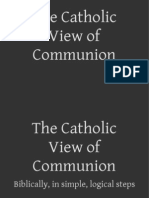 Catholic Communion - In Simple Biblical Steps