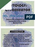 Cytology Cytoskeleton