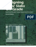 Designing Floor Slabs on Grade by Boyd c Ringo Robert b Anderson