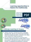 [PDF version - slides] - Lifelong Learning opportunities in the workplace for traditionally disadvantage groups in Ireland