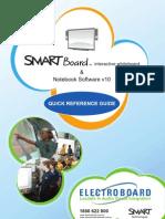 Smart Board Quick Reference Guide v10 Edu