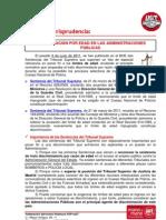 Informa Jurisprudencia Edad Oposiciones 06/06/11