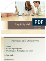 Liquidity Risk .