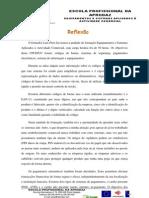 Reflexão- ESAAC