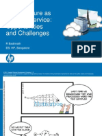 Cloud Oppurtunities & Challenges by Badrinath -HP