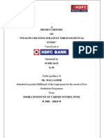 Hdfc Project Report by Sumit Ray