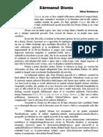 Sarmanul Dionis - analiza