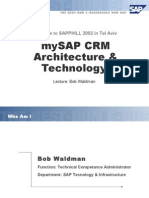 Crm Architecture Technology