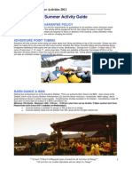 2011 Keystone Resort Summer Activity Guide