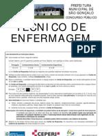 57221125 Tecnico Em Enfermagem Ceperj Sao Gonsalo