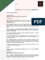 Ley de Propiedad Horizontal Del Ecuador