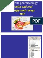 Pharmacology of Endocrine System-InSULINE