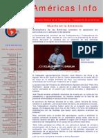 Boletín CSA Américas Nº 10/2011