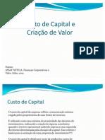 Custo de Capital e Criação de Valor ultimo