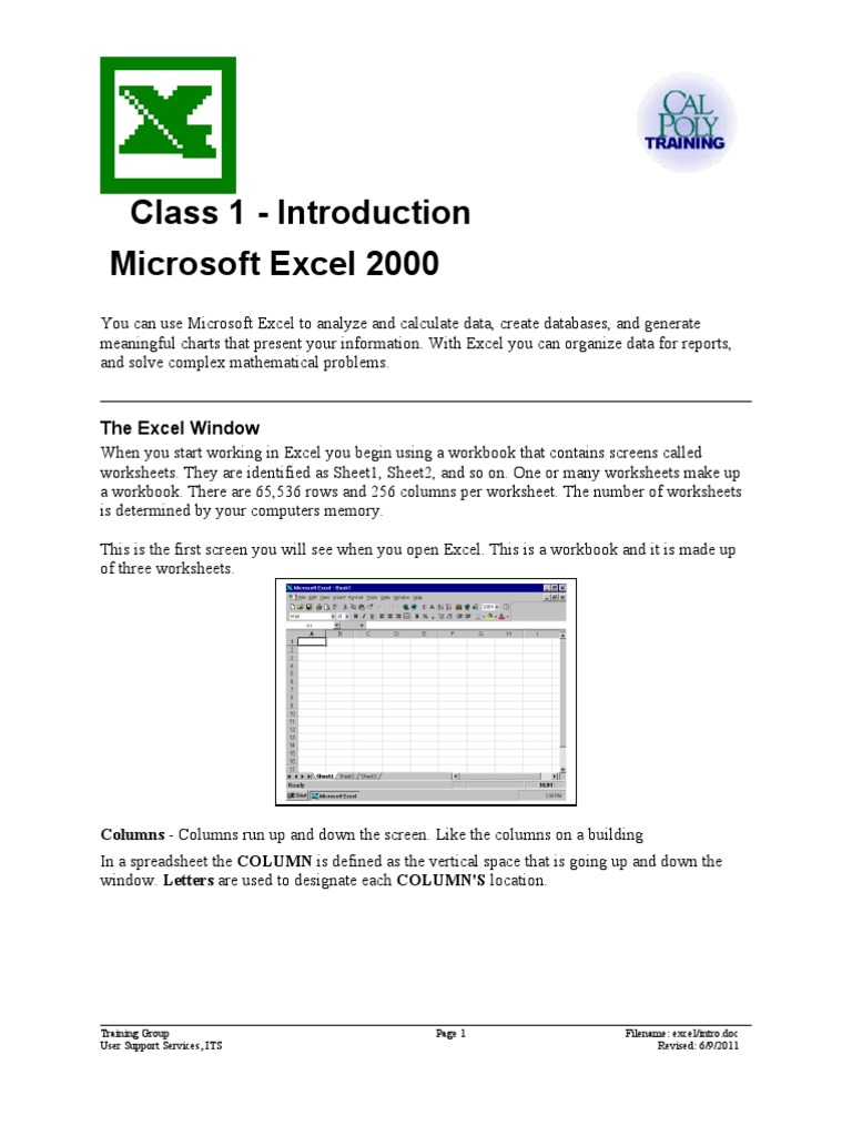 Excel 1   Microsoft Excel   Spreadsheet