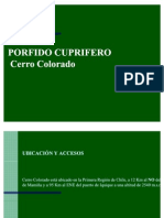 Geologia Cerro Colorado