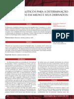 MÉTODOS ANALÍTICOS PARA A DETERMINAÇÃO DE AFLATOXINAS EM MILHO E SEUS DERIVADOS UMA REVISÃO