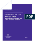 Media Use Among White, Black, Hispanic and Asian American Children