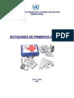 BOTIQUIN DE EMERGENCIA