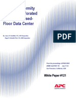WP-121 Airflow Uniformity Through Perforated Tiles in a Raised-Floor Data Center