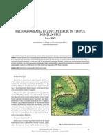 Paleogeografia Bazinului Dacic Pontian