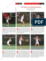The Modern Two-Handed Backhand