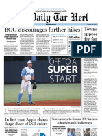 The Daily Tar Heel for June 9, 2011
