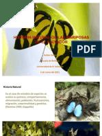 Historia Natural de Las Mariposas de El Salvador