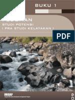 Pedoman Studi Potensi - Pra Studi Kelayakan (BUKU 1)