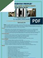 Poster El Calaboz 2011 English