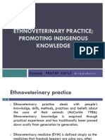 Ethnoveterinary Practice; Promoting Indigenous Knowledge