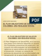 El Plan Obligatorio de Salud en Colombia,