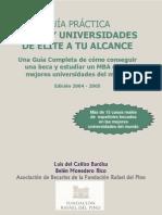 Guía Práctica - Becas y universidades de élite a tu alcance