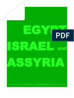 EGYPT  ISRAEL and ASSYRIA   The Big Three