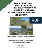 Resumen Ejecutivo Jardines Zamora